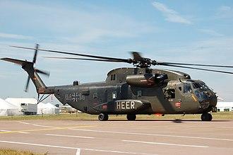 Medium Transport Helicopter Regiment 25 - German CH-53G