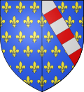 COA french queen Jeanne d'Évreux.svg