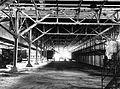 COLLECTIE TROPENMUSEUM Droogruimte gezien vanaf de fermentatie Theefabriek Goenoeng Dempo Priangan TMnr 10012009.jpg