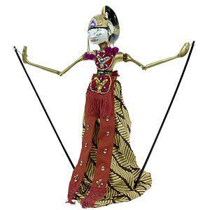 Iravan - Bambang Irawan wayang golek wooden puppet