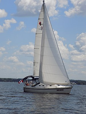 CS 30 - Image: CS 30 sailboat Safe Return 0834