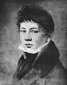 Karl Schiller als Knabe auf einem Ölbildnis von C. Brand, um 1808 (Quelle: Wikimedia)