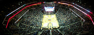 English: Charlotte Bobcats Time Warner Cable Arena