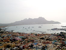 Downtown Mindelo Seen From Gud
