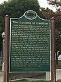 Cadillac landing plaque Detroit.jpg