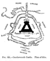 Caerlaverock Castle - Plan of Site.png