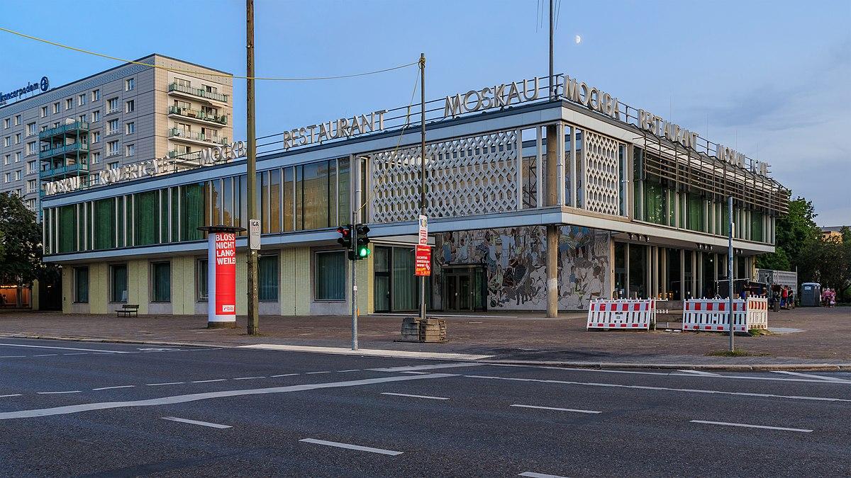 Cafe Marx Berlin Critic