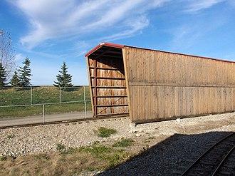 Calaway Park - Rocky Mountain Railroad Tunnel, near the train station