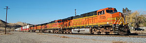 Caliente, California - Image: Caliente California Burlington Northern Santa Fe