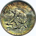 Obverse of a 1925 California Diamond Jubilee half dollar