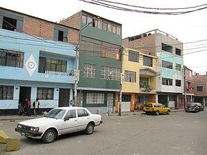 San Martín de Porres District - A street in San Martin de Porres