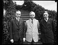 Calvin Coolidge, left; Charles G. Dawes, right; White House, Washington, D.C. LCCN2016893587.jpg
