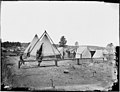 Camp and quartermasters stores at Stonemans Station, Va. Quartermaster's quarters. (4167063272).jpg