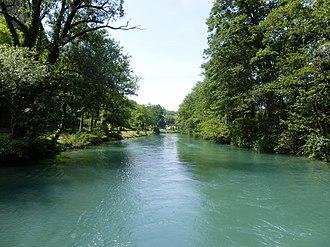 Canal de Savières - Image: Canal de Savières