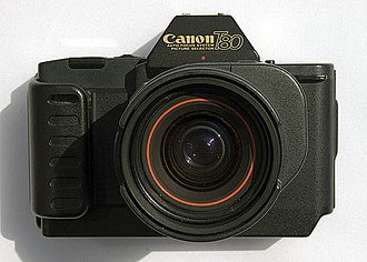 Canon T80 - A Canon T80 with the standard 50mm AC lens