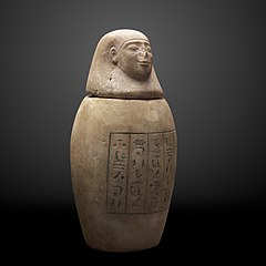 Canopic jar of Hor-Uahibre-MAHG D 0057