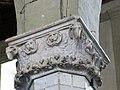 Capitals of columns inside Pieve di Sant Andreaa (Sarzana, Italy).jpg