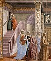 Cappella Tornabuoni, Birth of Mary 03.jpg