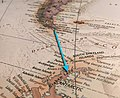 Captain Fiann Paul, The Impossible Row, Drake Passage, Southern Ocean, rowing map.jpg