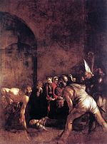 Caravaggio - Burial of St. Lucy.JPG