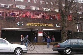 Cardiff University Students' Union - Cardiff Students' Union main building