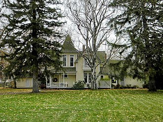 National Register of Historic Places listings in Benton County, Washington - Image: Carey House Prosser 89002096 NRHP Benton County, WA