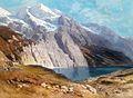Carl Heyn Blick auf das Doldenhorn mit Oeschinensee.jpg