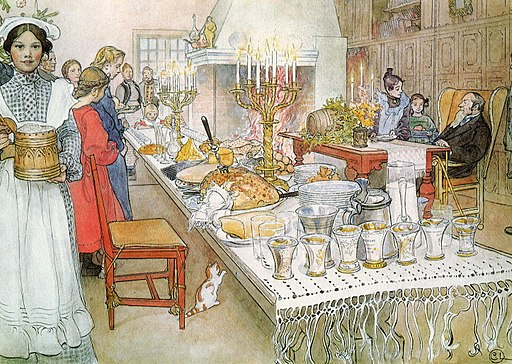 Carl Larsson julbord 1904