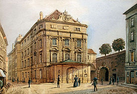 The Imperial and Royal Court Opera, Vienna 1830 (Source: Wikimedia)