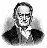 Carl Ritter - considered to be one of the founding fathers of modern geography