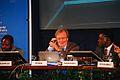 """Carlo Rubbia - Forum """"Lo sviluppo dell'Africa"""" 2008 - Taormina, Sicily, Italy - 3 Oct. 2008.jpg"""