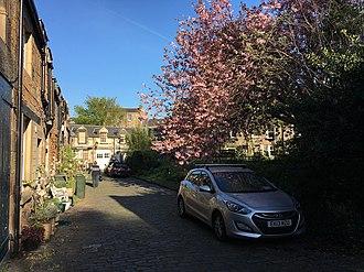 Carlton Terrace, Edinburgh - Carlton Terrace Mews in April 2017