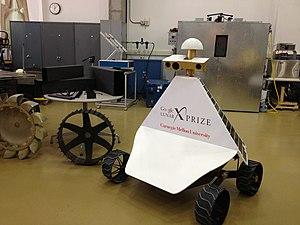 Google Lunar X Prize - Carnegie Mellon University lunar rover