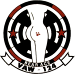 Carrier Airborne Early Warning Squadron 124 (US Navy) insignia c1987.png