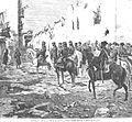 Cartagena después del sitio — Entrada del general en jefe en la ciudad.jpg