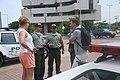 Cartageneros y policías comprometidos con la hospitalidad y la seguridad de las 190 delegaciones participantes en la 82 Asamblea Interpol. (10394617463).jpg