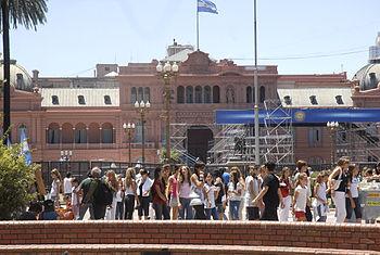 Casa Rosada preparativos