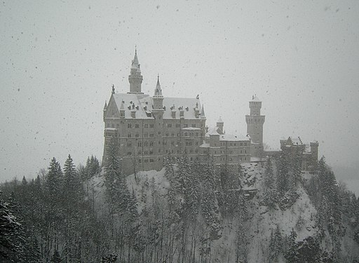 Castle Neuschwanstein Winter