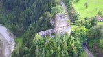 File:Castle ruin Campell-Campi, aerial video.webm