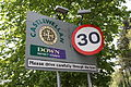 Castlewellan road sign, May 2010 (02).JPG
