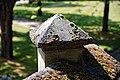 Catacomb columbarium City of London Cemetery, parapet coping stone 2.jpg