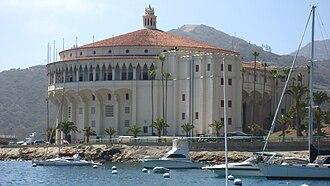 Catalina Casino - Catalina Casino, from inside Avalon Harbor