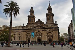 Catedral Metropolitana De Santiago   Wikipedia  La Enciclopedia Libre