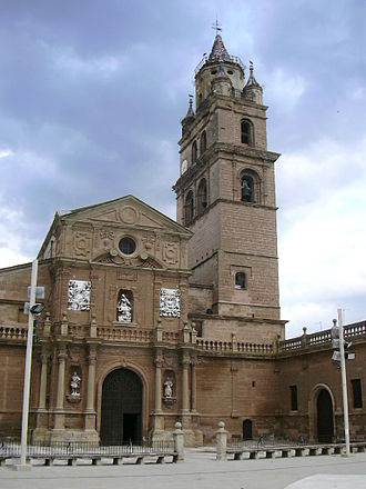 Calahorra - Image: Catedral de Calahorra 01