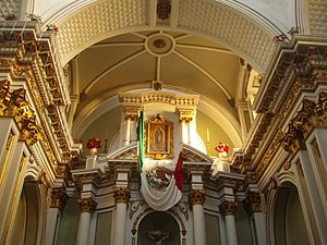 Cathedral Basilica of Our Lady of Guadalupe, Colima - Internal view