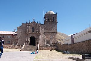 Andean Baroque - Cathedral of Juli