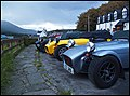 Caterham 7 kit-cars, Applecross Inn. - panoramio.jpg