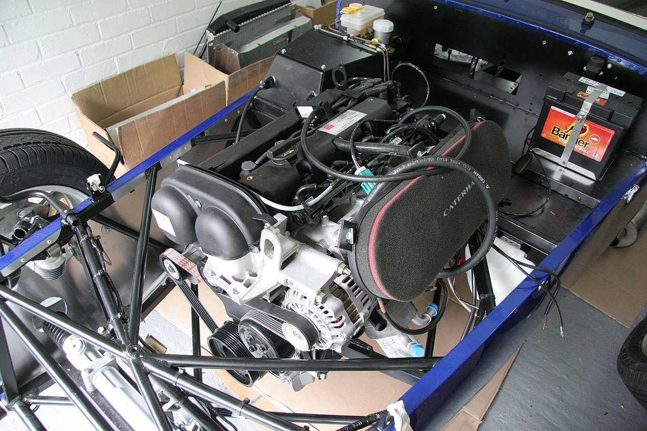 File:Caterham Roadsport building - 052 - The engine and