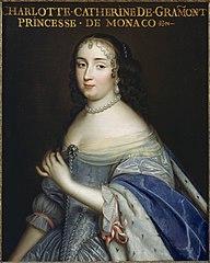 Catherine-Charlotte de Gramont, princesse de Monaco, duchesse de Valentinois