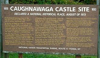 Caughnawaga Indian Village Site - Image: Caughnawaga 2